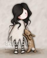 I Love You Little Rabbit by gorjuss