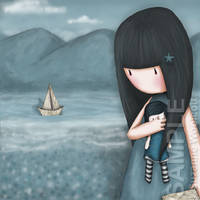 Wee Paper Boat by gorjuss