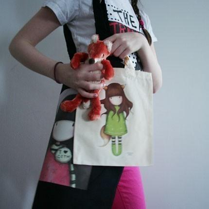 Kitsune - tote bag - ChildSize by gorjuss
