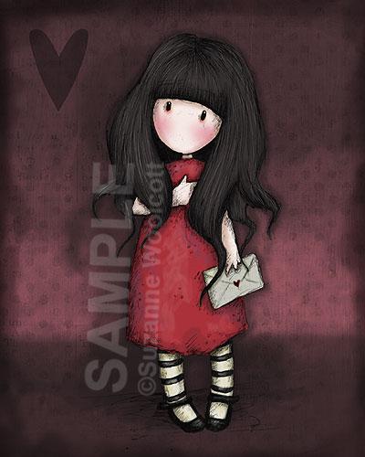 Valentine by gorjuss on DeviantArt