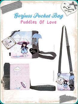 Gorjuss Pocket Bag Puddles