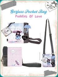 Gorjuss Pocket Bag Puddles by gorjuss