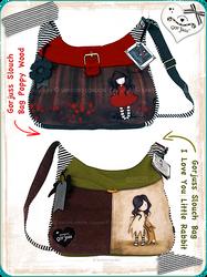 Gorjuss Slouch Bags by gorjuss