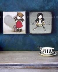 Gorjuss Canvas Wall Art by gorjuss