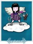 angelic riot grrrl by gorjuss