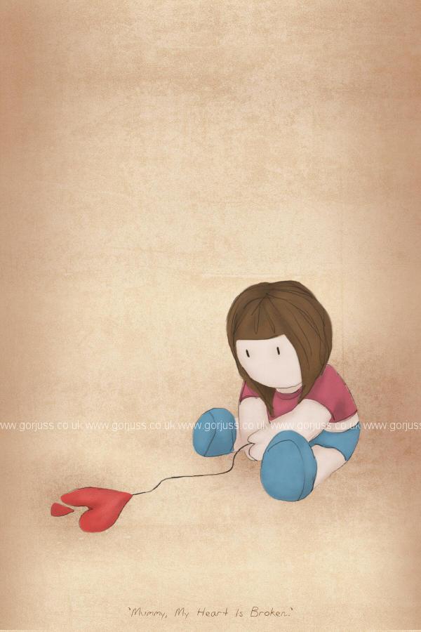 ���� ����� �������� ���� 2012 mummy__my_hearts_broken___by_gorjuss.jpg