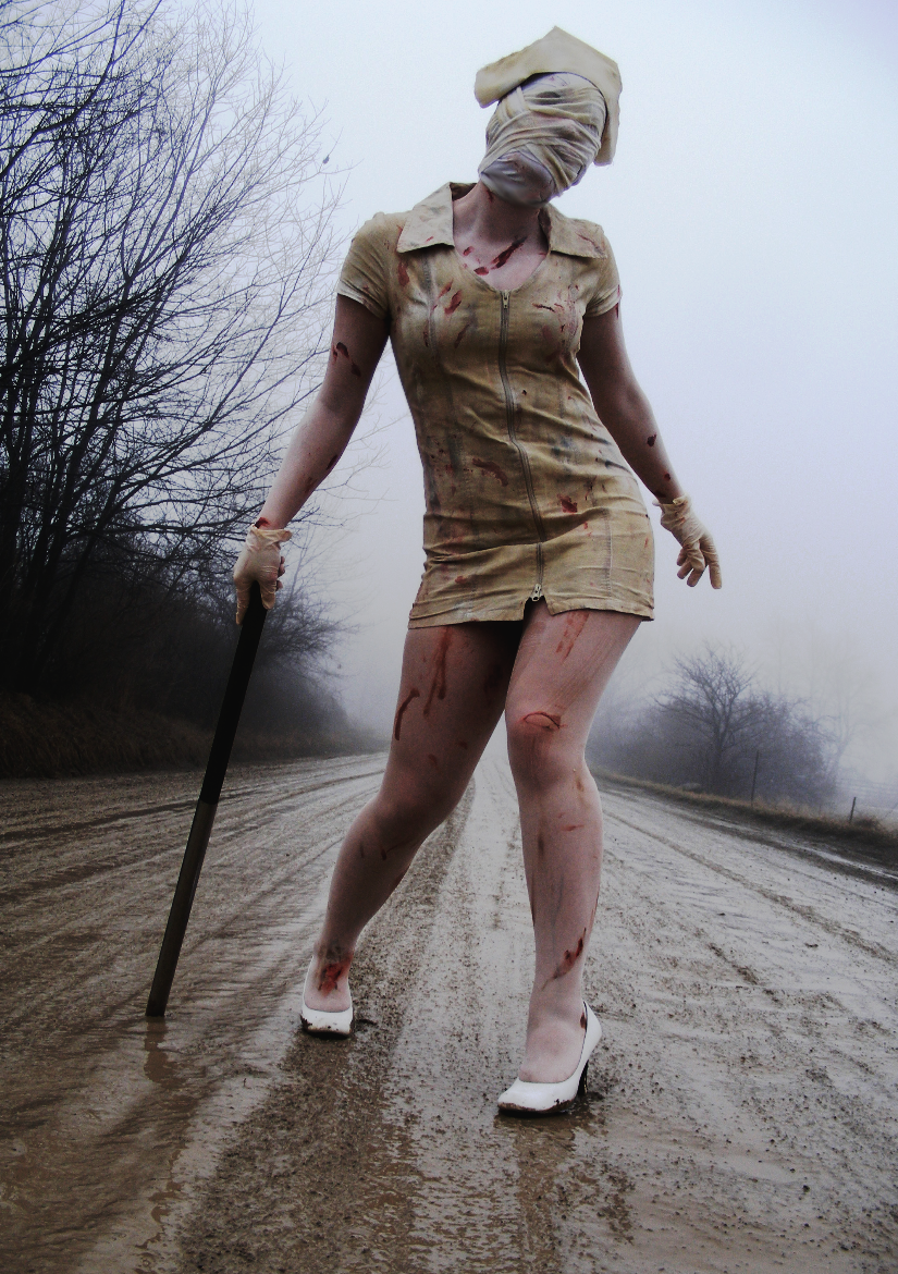 Silent Hill by peachyanime
