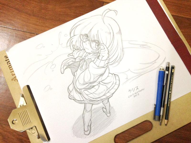 Mirai - Kyoukai no Kanata by yourcris