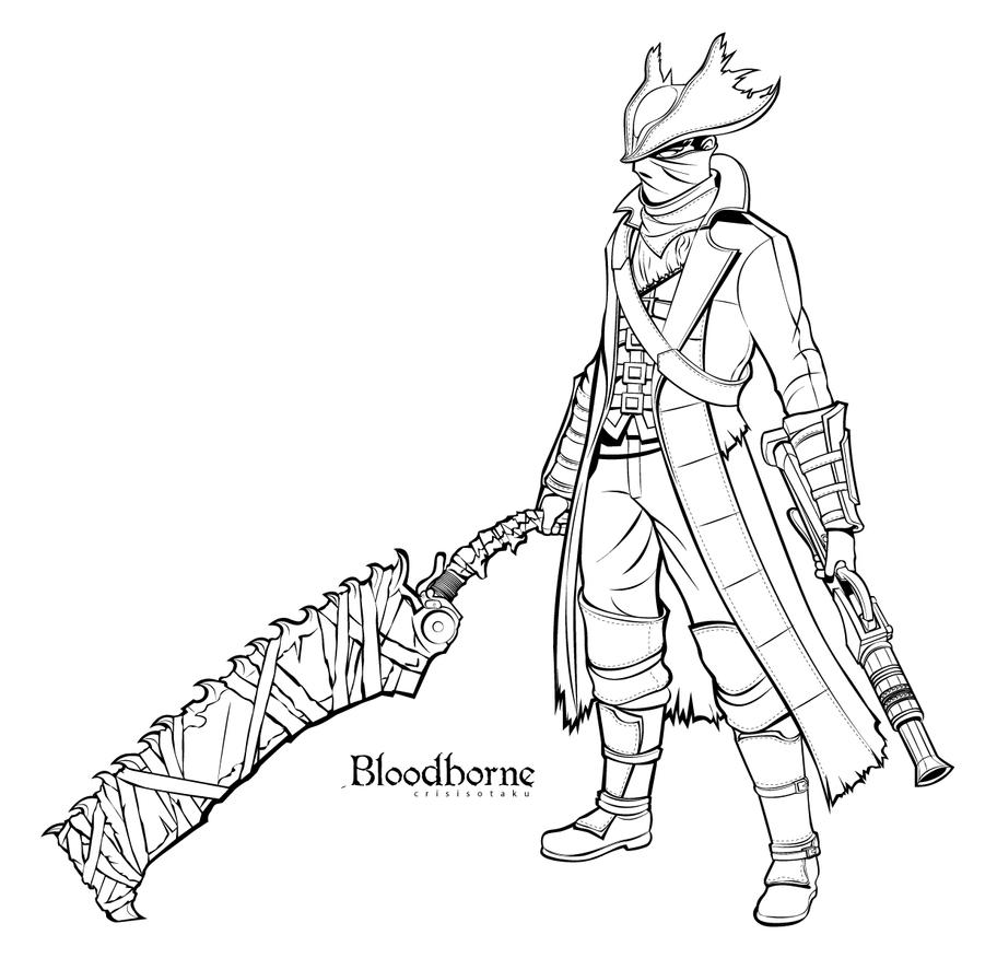 D Line Drawing Game : Bloodborne by yourcris on deviantart