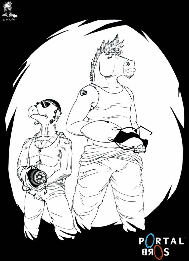 Portal Bros. by BullittJaleo