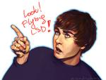 LOOK! Flying LSD!