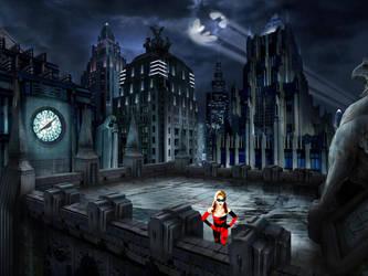 Rosanna Pansino as Harley Quinn by mannitt