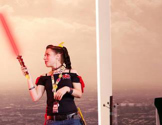 Nika Harper's Light Saber 03 by mannitt
