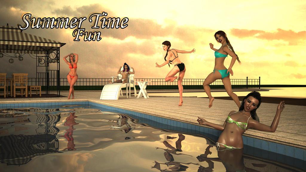 Summertime Fun by mannitt