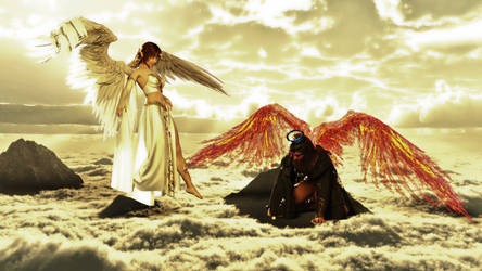 Angels Conflict by mannitt