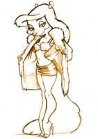 Animaniac's Minerva Mink 2 by WarBrown