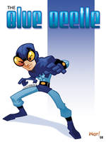 The Blue Beetle by WarBrown