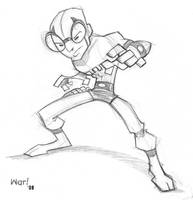The Blue Beetle Sketch by WarBrown