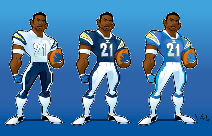 San Diego Charger Lt By Warbrown On Deviantart