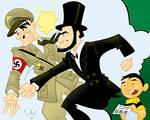Abe Lincoln: Nazi Smasher