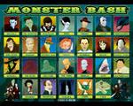 Monster Bash Lineup Closeup