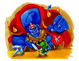 Legend of Zelda by WarBrown