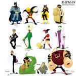 Batman International by WarBrown