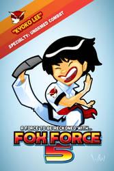 Fox Force Five Kyoko by WarBrown