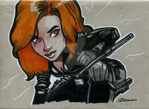 Black Widow by WarBrown