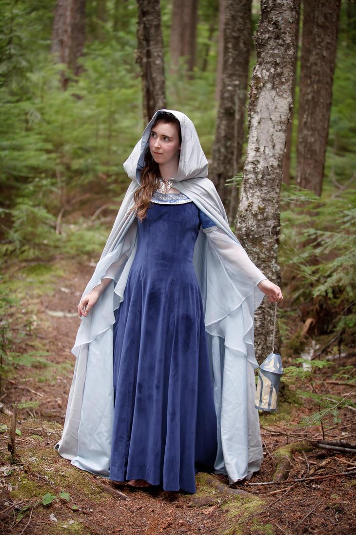 Arwen Blue Costume Arwen Blue Dress Cosplay