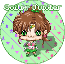 SailorJupiter Hoshibebi Button Design by NekoAthena