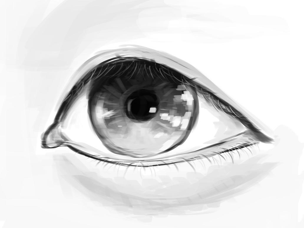 Eye Study by bluefoxangel143