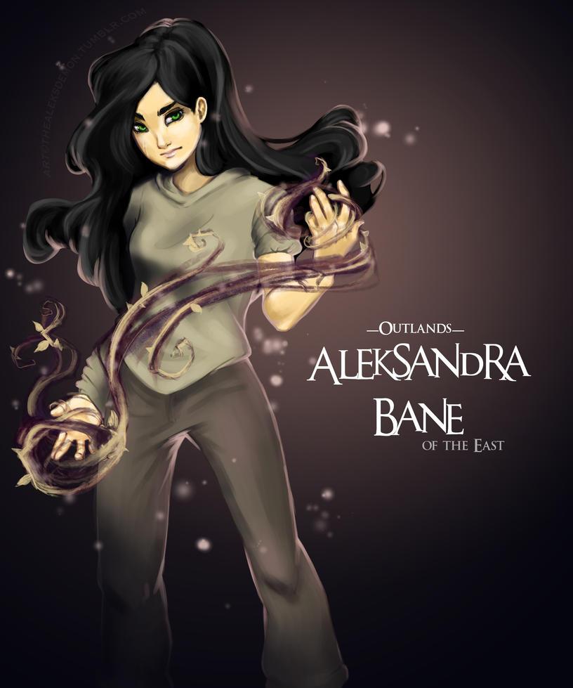 Aleksandra Bane ~ OC Character Banner by TheAleksDemon