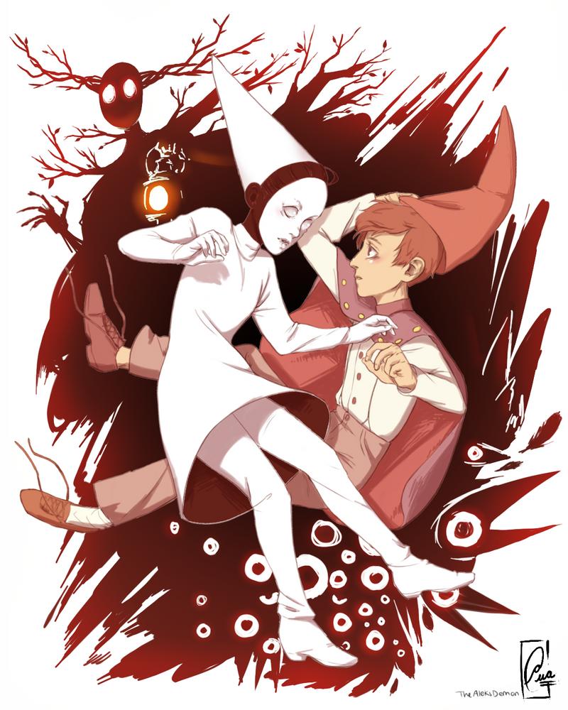 Princess Ida and Wirt by TheAleksDemon