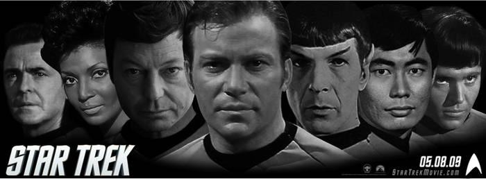 Trek 2009-Original Crew Banner