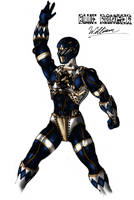 Steampunk Blue Ranger--Colored by Promus-Kaa