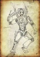 Steampunk Cybusman by Promus-Kaa