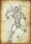 Steampunk Cybusman