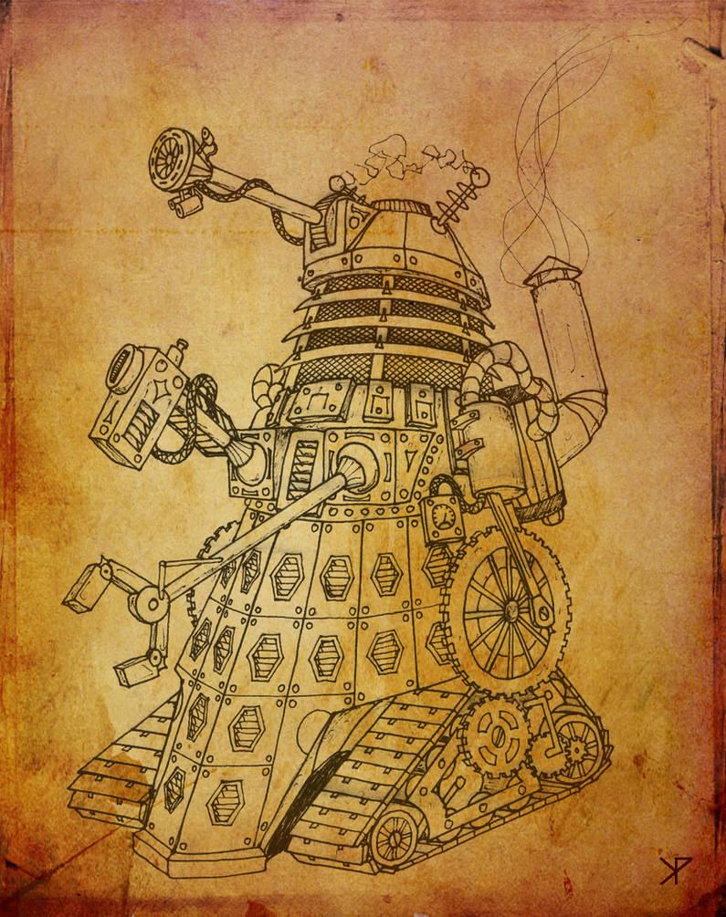 Steampunk Dalek