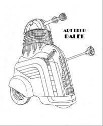 Art Deco Dalek