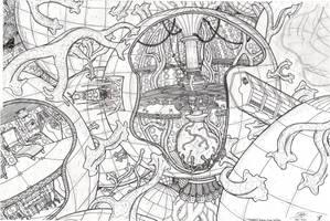 TARDIS Interior Cross-Section