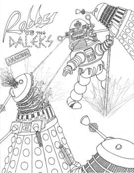 Robby the Robot VS The Daleks