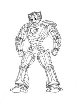 New Series Cyber-leader Armour
