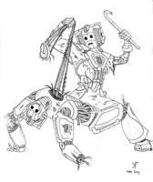 Cyberman VS Cybusman by Promus-Kaa