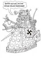 WWII Nazi Dalek by Promus-Kaa