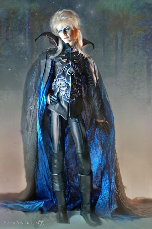 Jareth The Goblin King in Dark Armor by Katyok