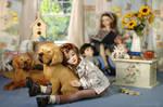 In the Nursery by Katyok