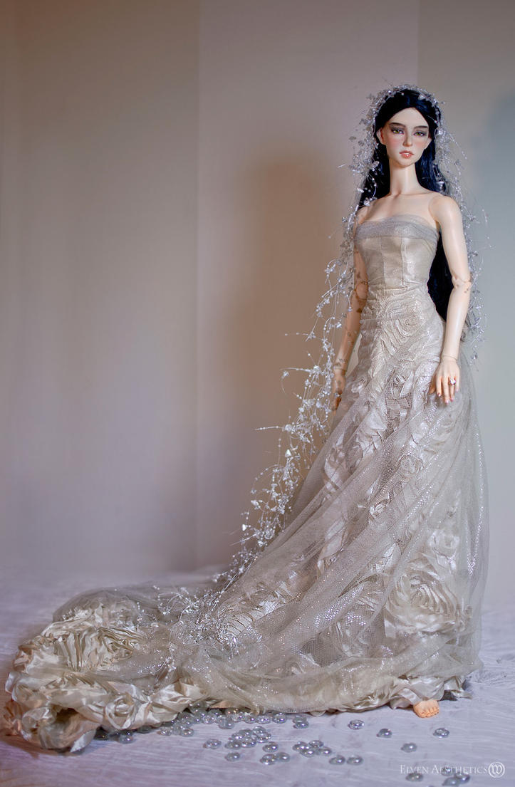 Anna's Wedding Dress by Katyok