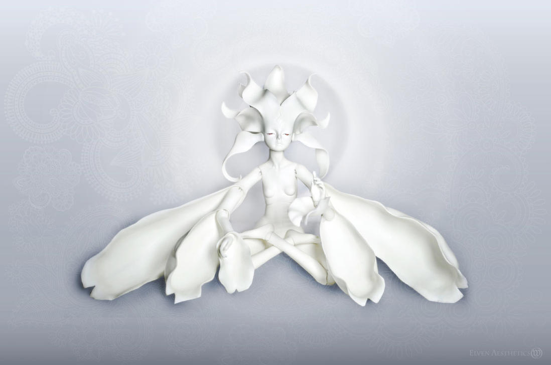 Bodhisattva of Plastic Flowers by Katyok