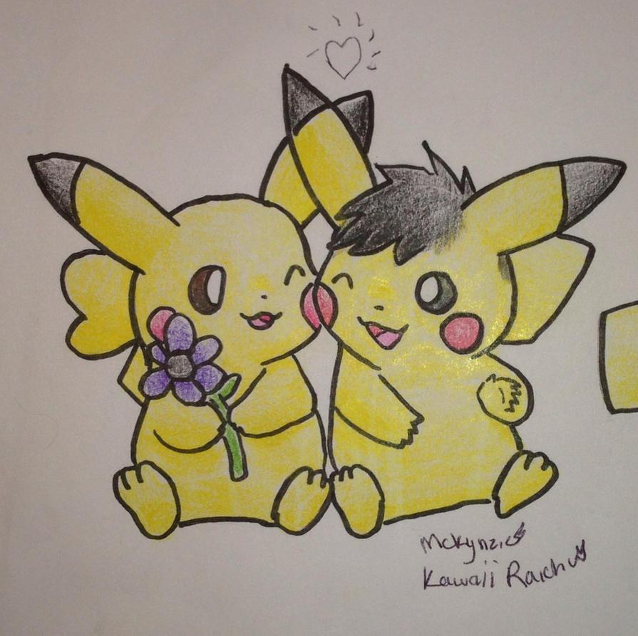 cute pikachu couple pokemon - photo #29